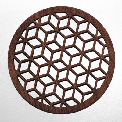 Hedron polyhedron coaster