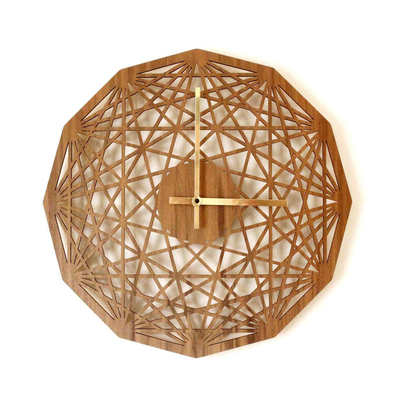 Contemporary clock mandala clock geometric design for Modern pattern design